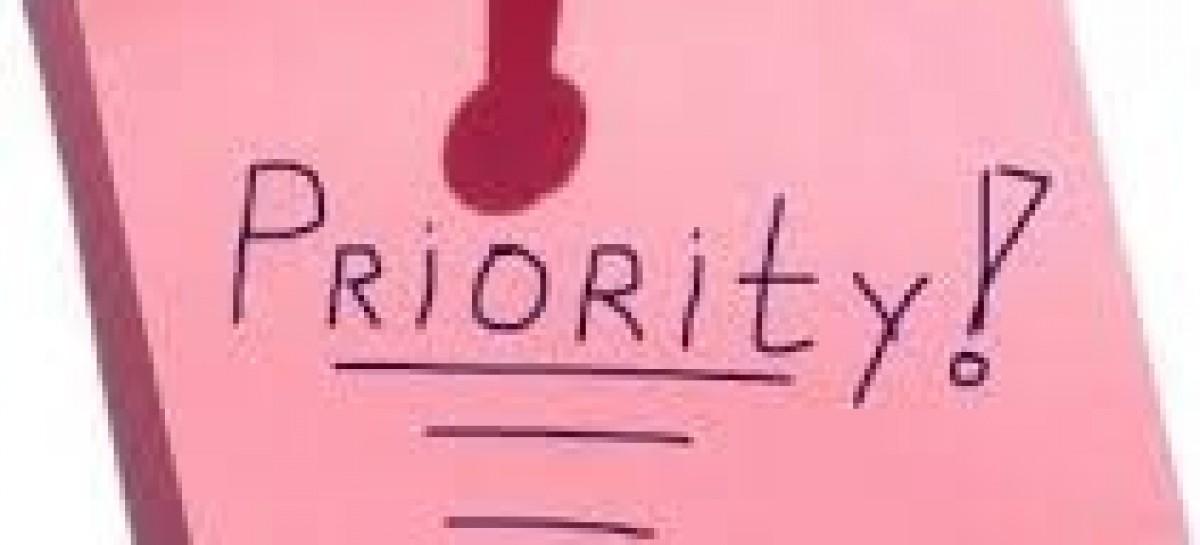 Principle of priority