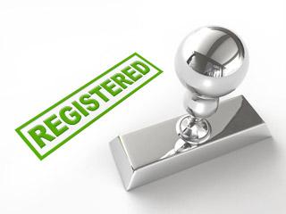 Registering the trademark