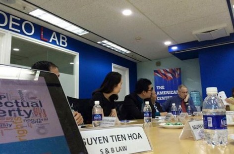 Lawyer SBLAW has joined the IPR roundtable at American Center, Diamond Plaza, HCMC.