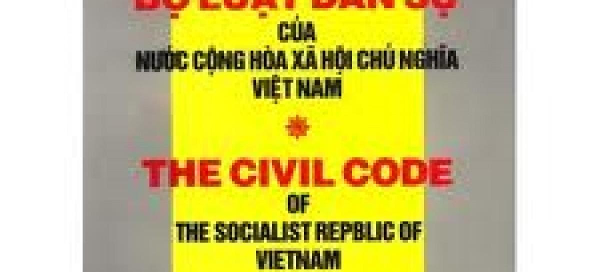 Vietnamese Civil Law code 2005