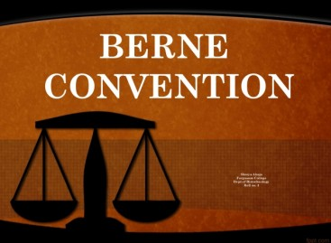 Berne Convention for the Protection of Literary and Artistic Works, 1886